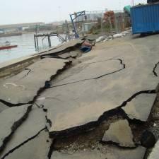 Wharf Damage